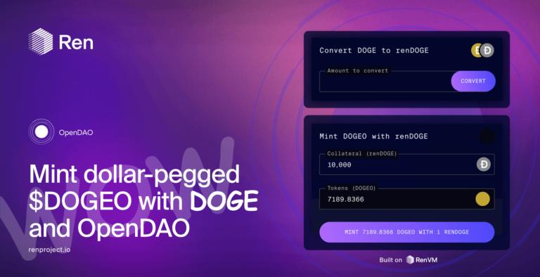 ドージコインをイーサリアムにつなぐ:OpenDAOとRenVM