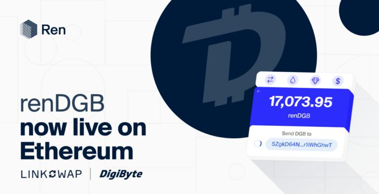 レンとリンクスワップがDigibyte(DGB)をDefiに接続